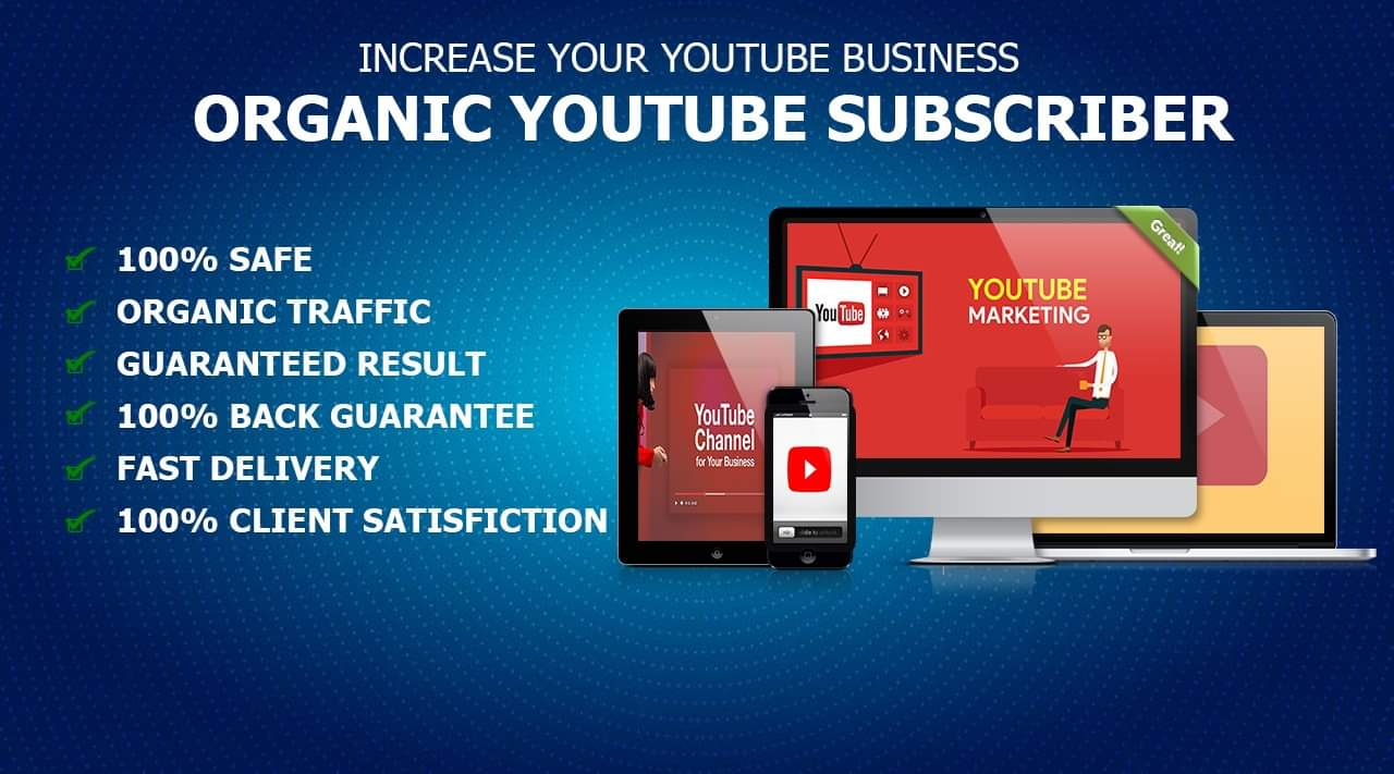 Give You Real High-Quality YouTube Promotion Within 10 days for $30