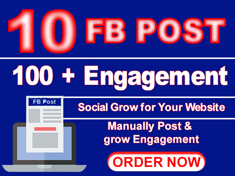 promote your Website to our Facebook for Increase traffic