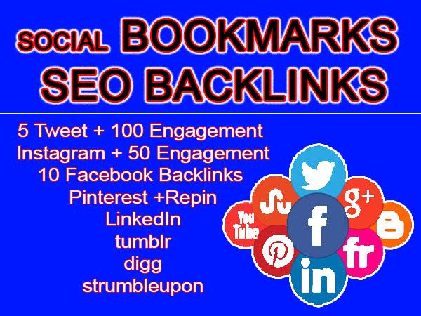 do manually high authority 700 Social signals bookmarks
