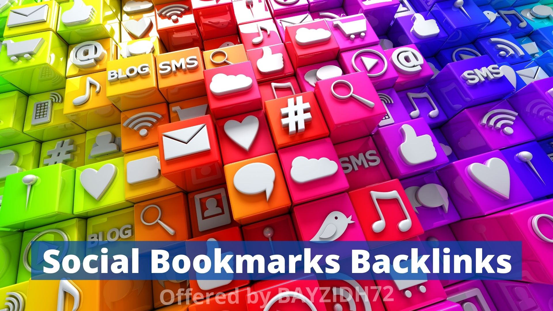 I Will Make 123+ Social Bookmarks SEO Backlinks Submission