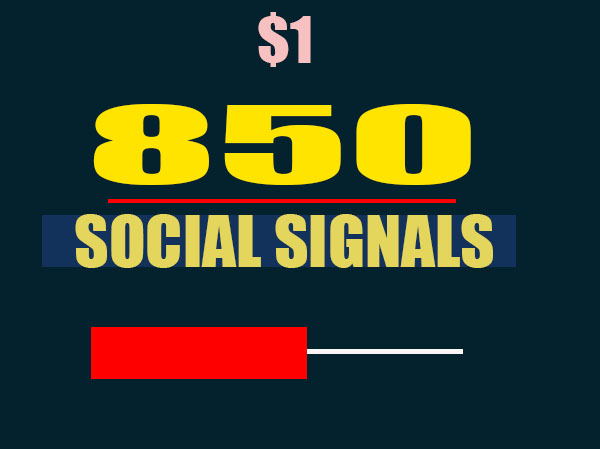 Create All Seo Social Signals Package for Ranking Website