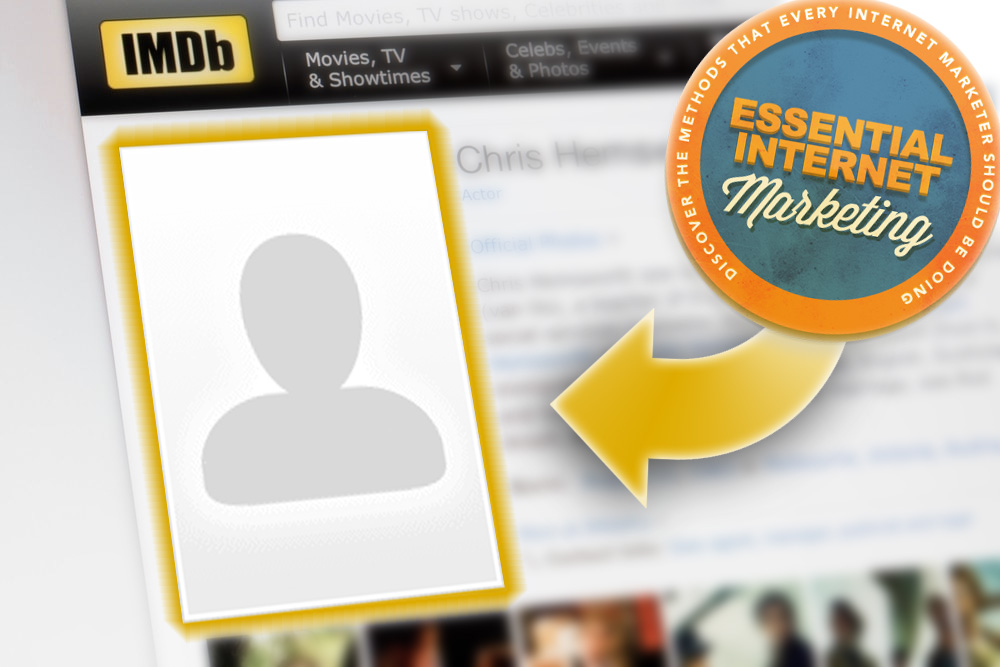 Publish IMDb profile photos for better exposure