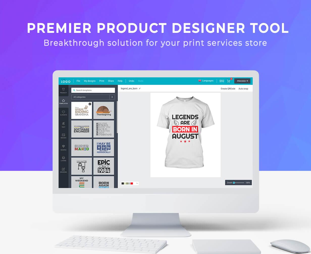 T Shirt Printing,  Designing,  Ecommerce Website With WordPress