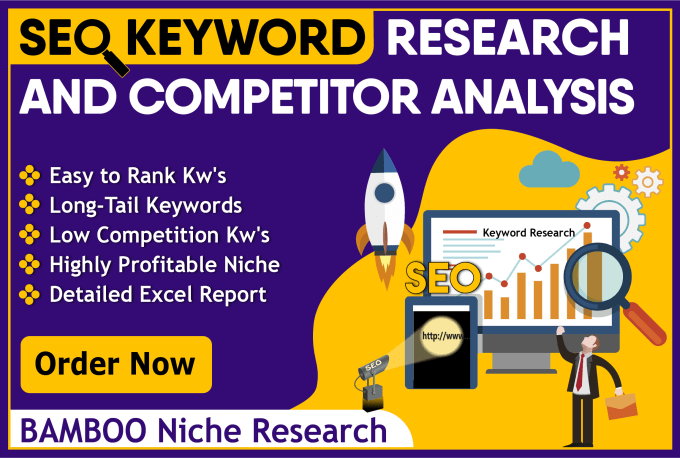 I will do excellent SEO keyword research and competitor analysis that actually ranks