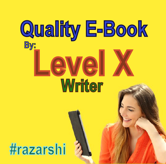 Quality E-Book By Level X Writer