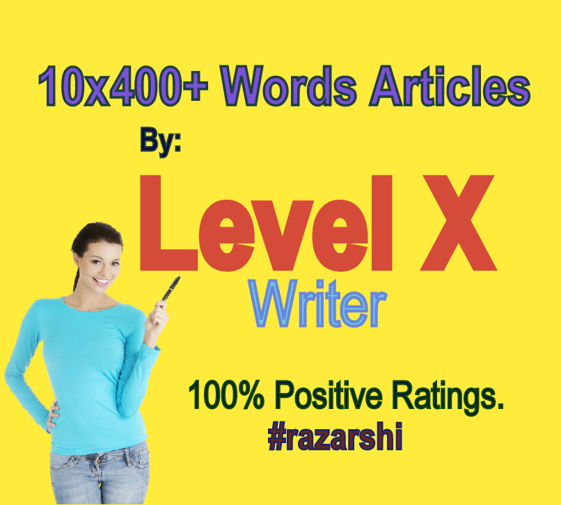 10x400 Words Articles- A Service by Level X