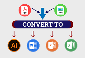 Convert your JPEG to JPG/PNG/PDF/MS Word/Excel