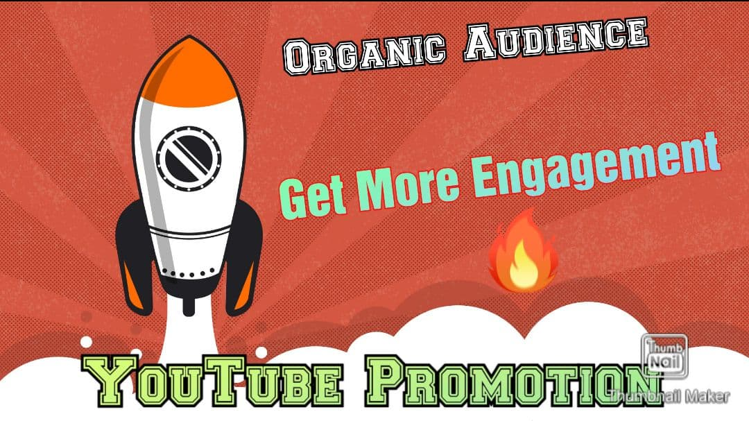 YouTube Ranking Service By Real Active Users and High Quality Promotion