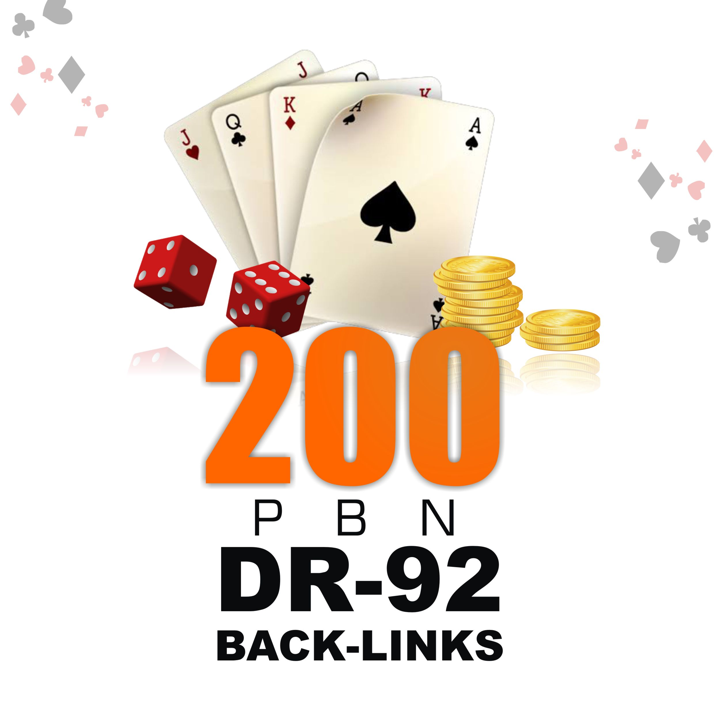 Get 200 High Quality PBN Back-links for Casino,  Poker and Website Ranking