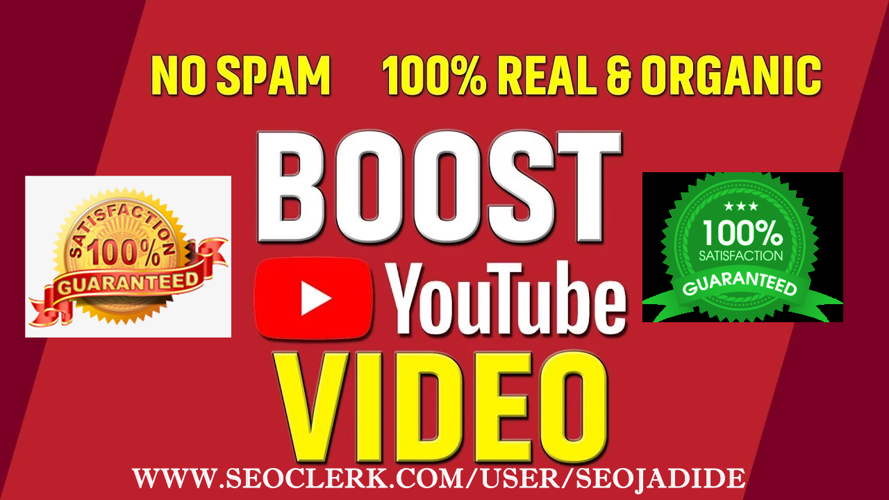 Do YouTube Video Promotion & Viral Via World Wide User Supper Fast