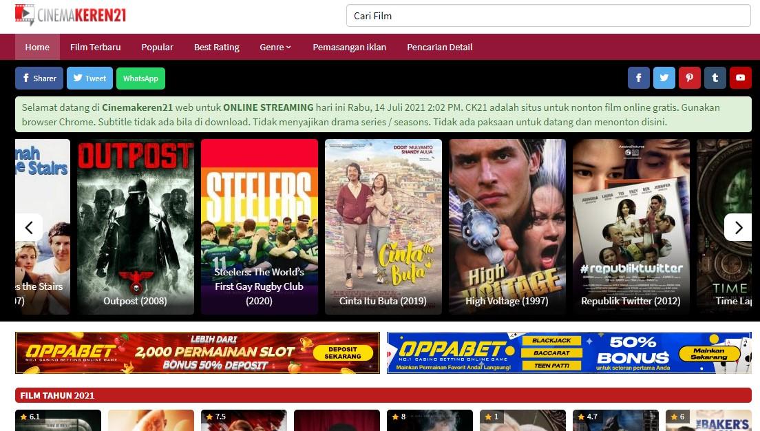 CinemaKeren21. com & Friends Banner Ads Per Month