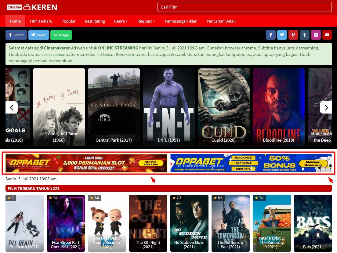 Video Banner 728x90 On Cinemakeren. id