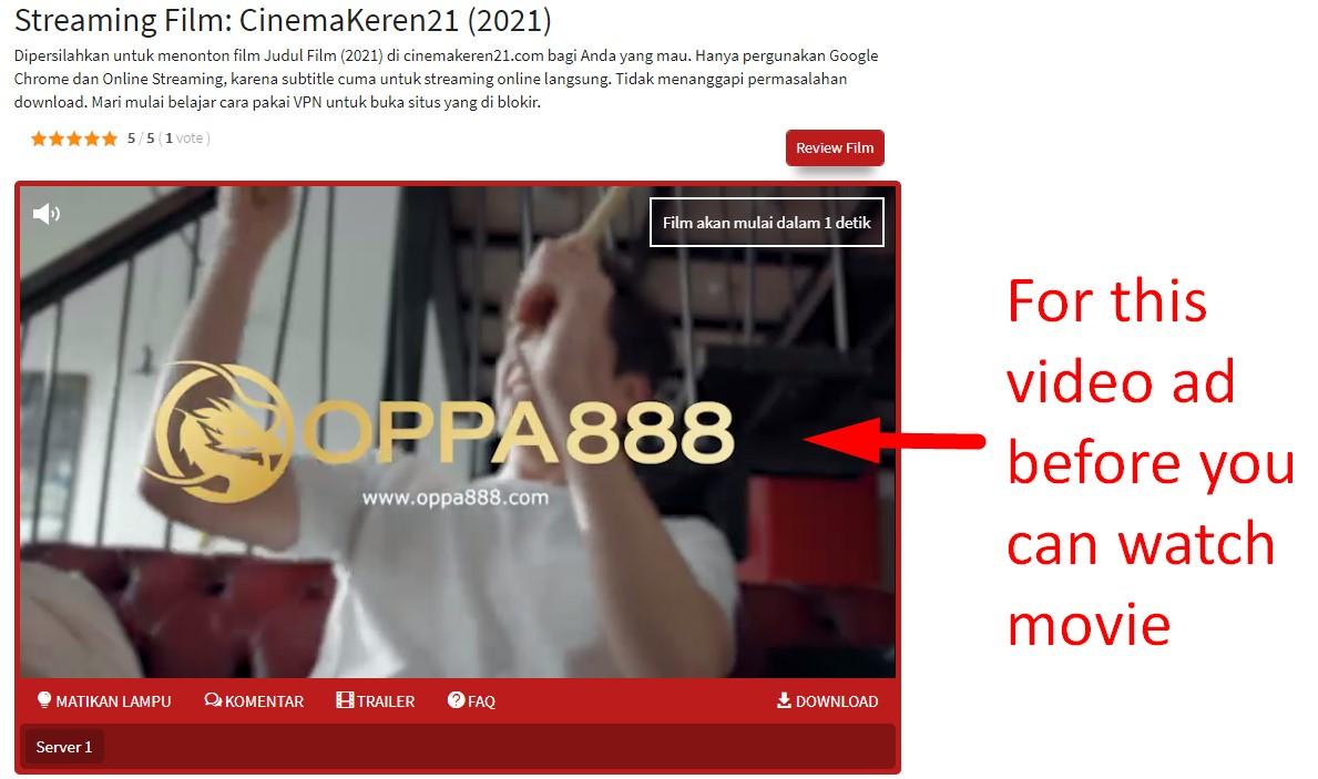 Cinemakeren21 Pre-Roll Video Ad 854x480