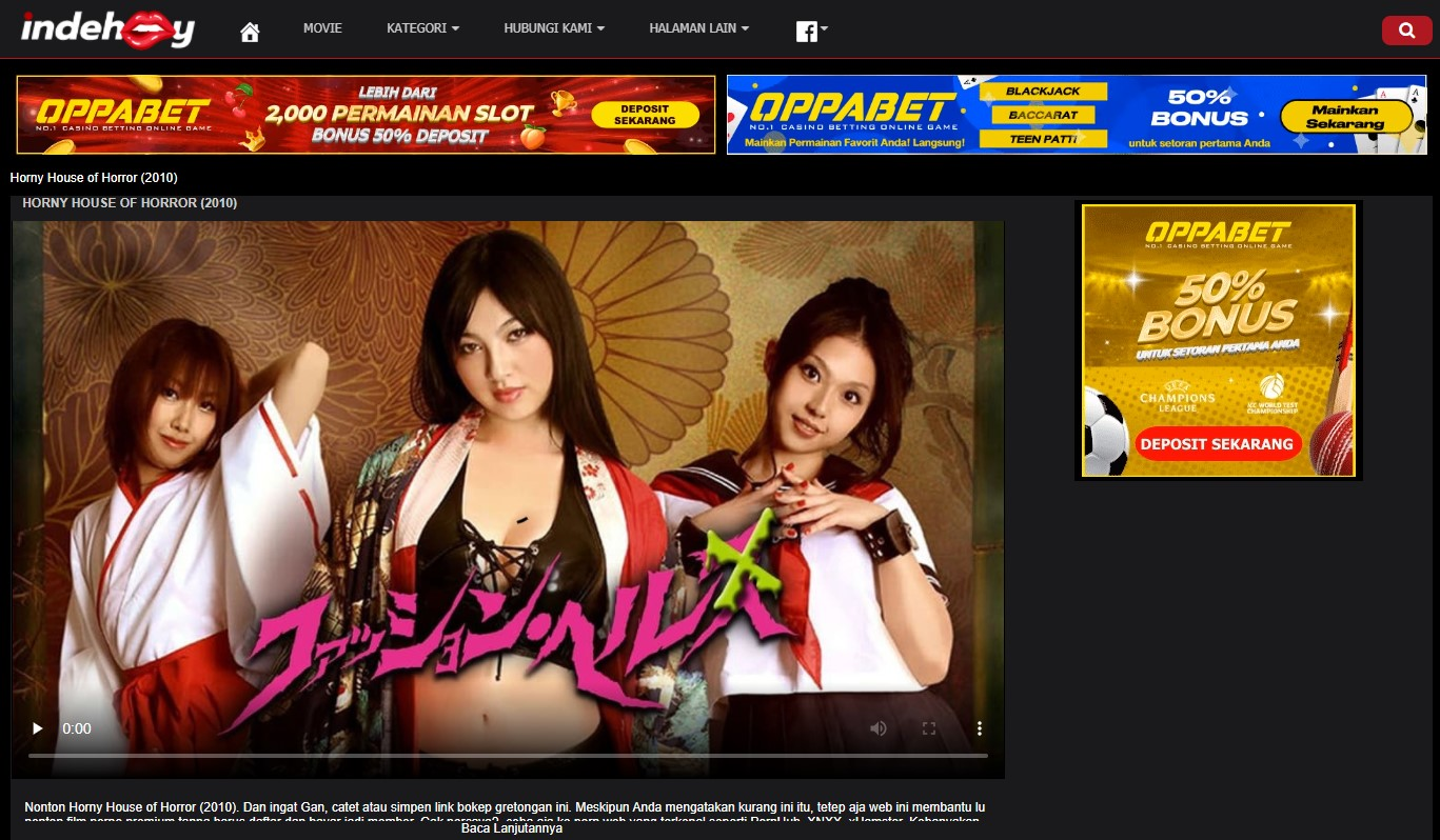 indehooy. com Porn Adult Indonesia Banner Ads