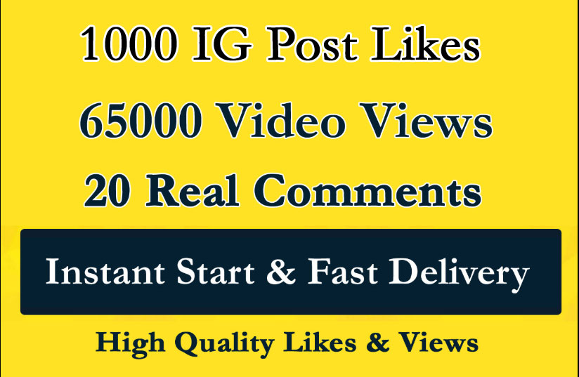 Instant 1000 Social Post Pictures video Promotion and Marketing with Fast Delivery