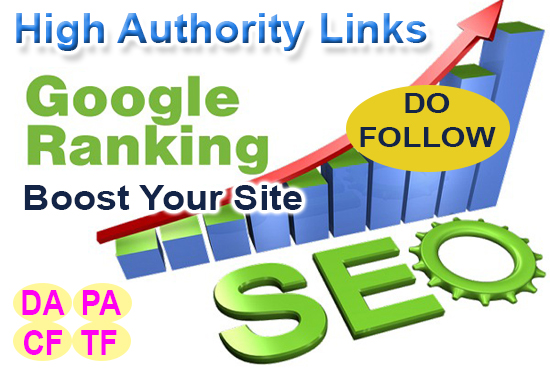 I Will Make High Authority Quality Backlinks to Boost Website Ranking