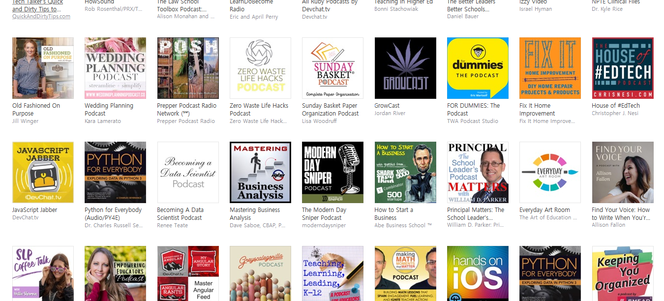 do promote and advertise your podcast in iTunes store