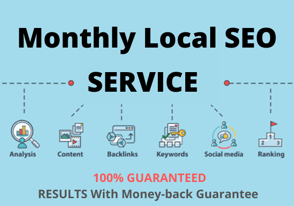 I will provide best monthly local SEO service for Google top rank