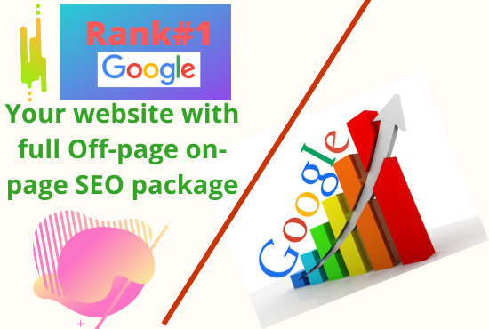 I will Rank your website 1st page on google