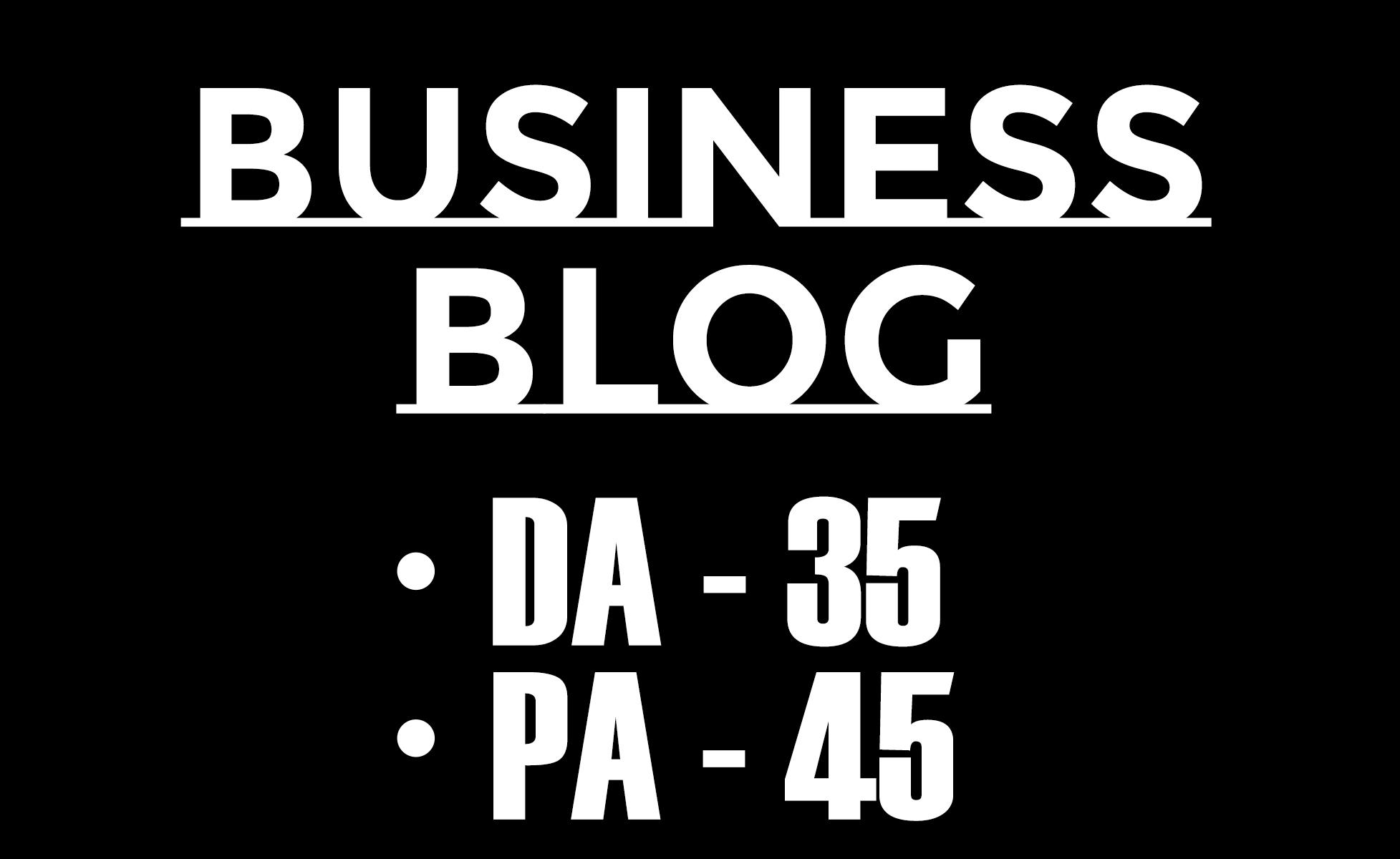 guest post in 35 DA HQ business blog