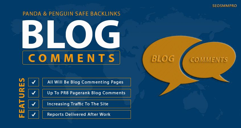I will manually create 1499 Unique Domain dofollow blog comments backlinks