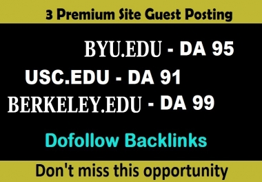 publish EDU guest posts DA 80+ with Dof0llow links