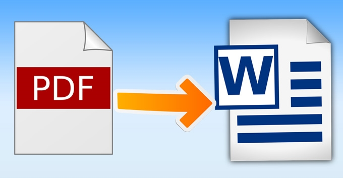 convert 40 pages PDF to word and image to text