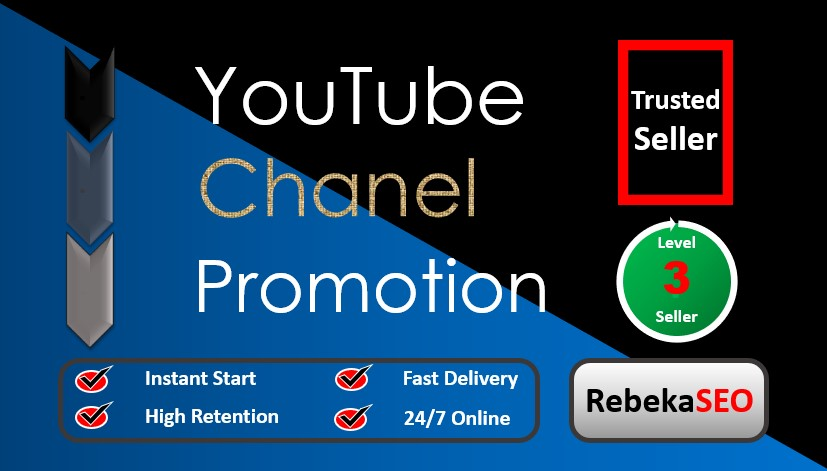 Ultra-fast YouTube Video Promotion package with bonus
