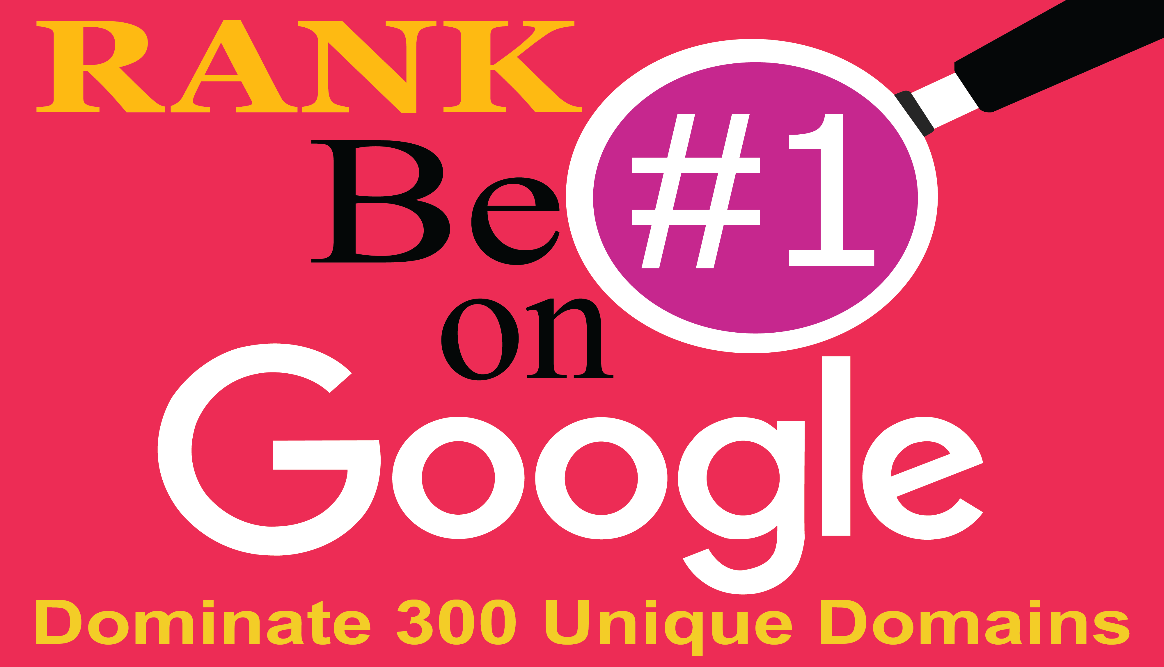 Google 1st Page Dominate 300 Manually Unique Authority Domains Get Your Result Within 3 Weeks