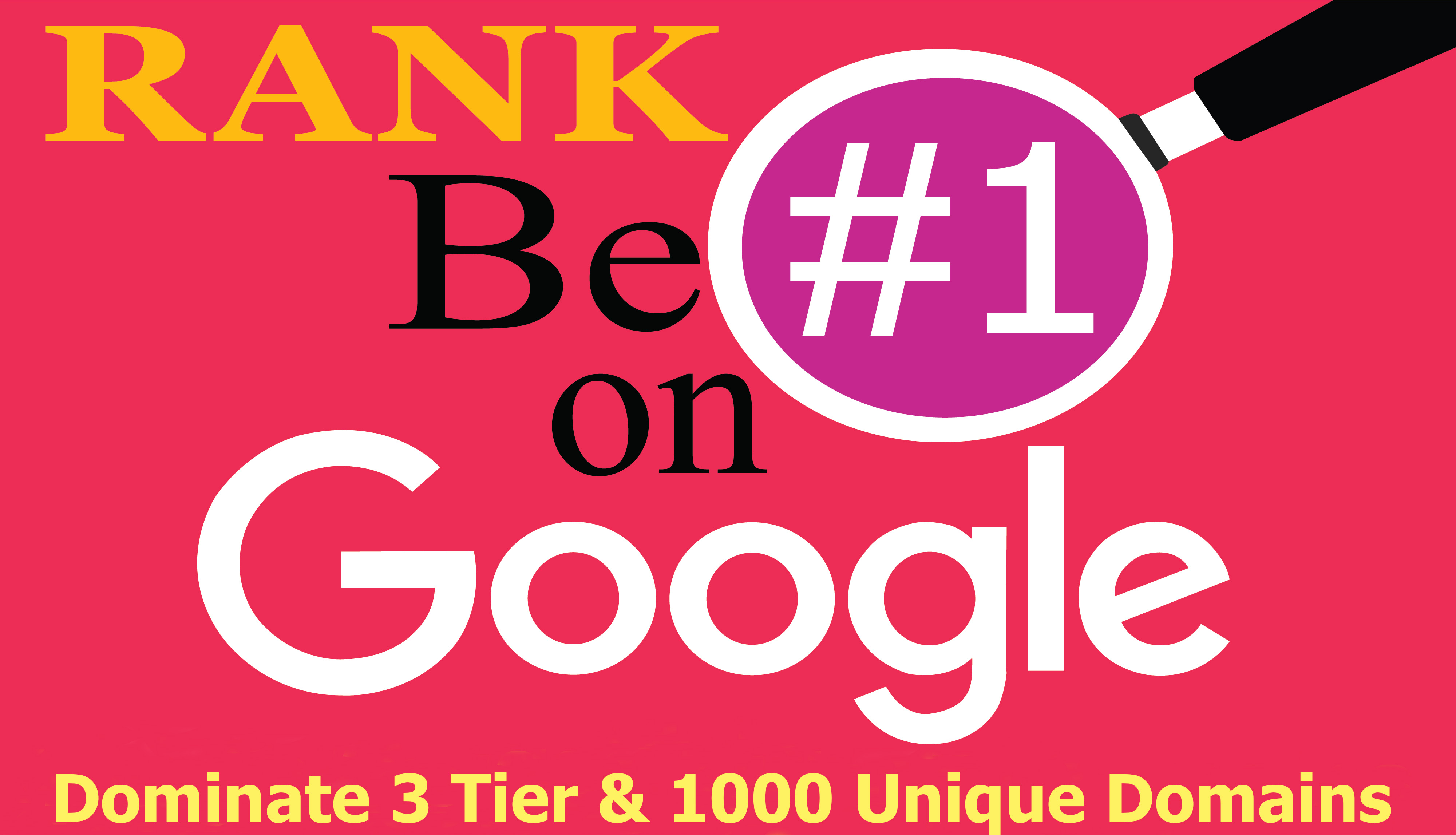Google 1 Page Manual 3 Tier & 1000 Authority Unique Domains Get Result Within 3 Weeks