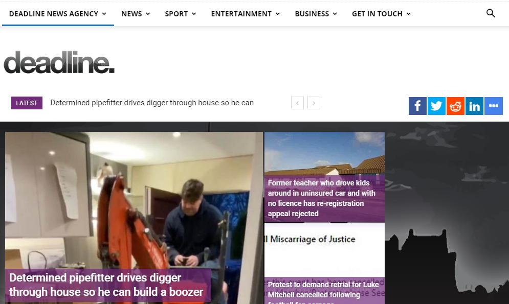 Publish Indexed Guest Post on Deadlinenews. co. uk - DA-77 Dofollow