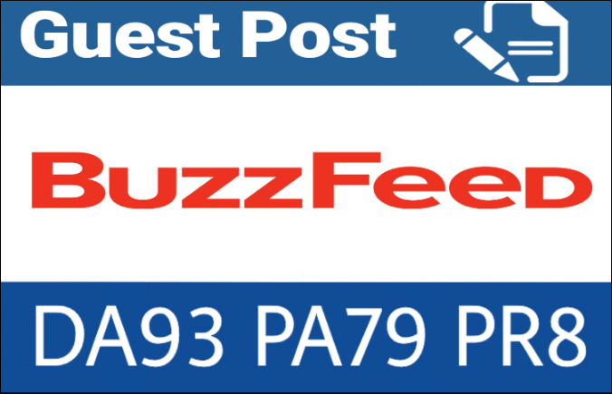 publish guest post on Buzzfeed. com with dofollow backlink