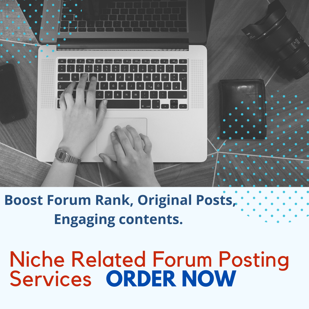 Premium,  Niche -Focused Forum Posts for your Forum