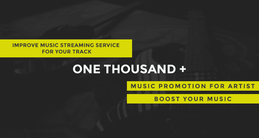 promote streams for your playlist track