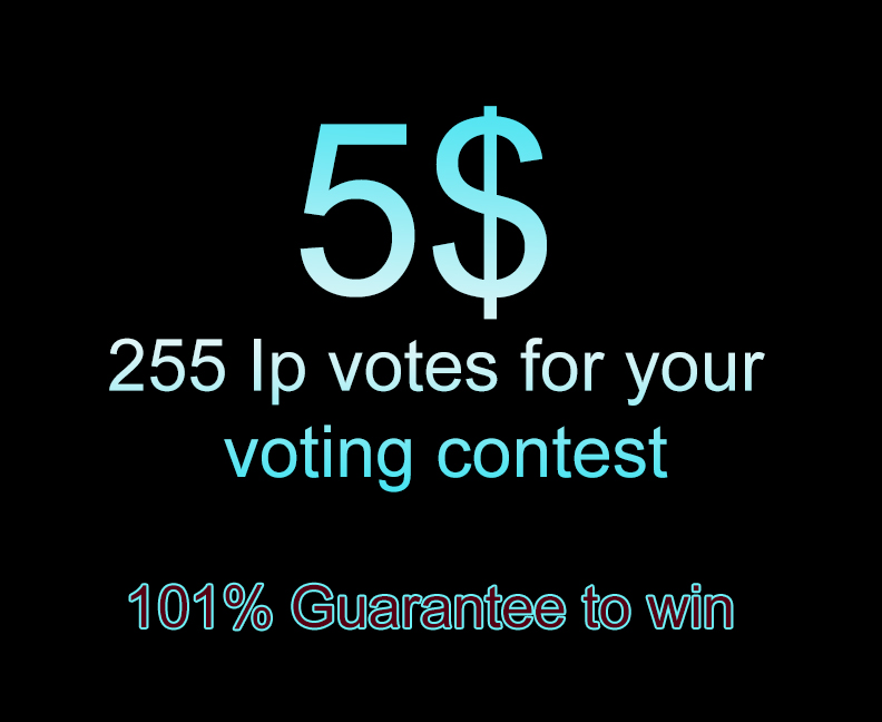 Add 255 ip votes for your online voting contest
