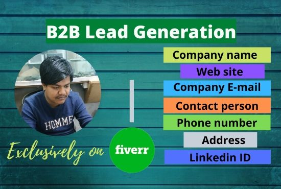 B2B Lead Generation buy using LinkedIn
