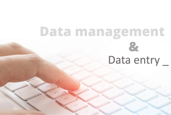 Data entry and Data collection