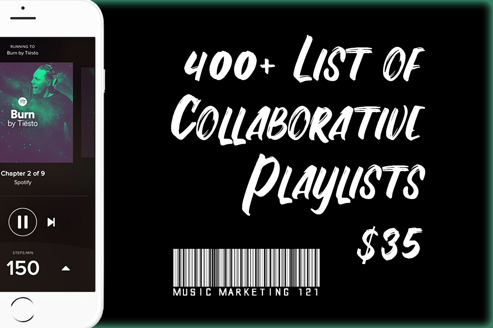 Provide You With a List of 400+ Collaborative Playlists