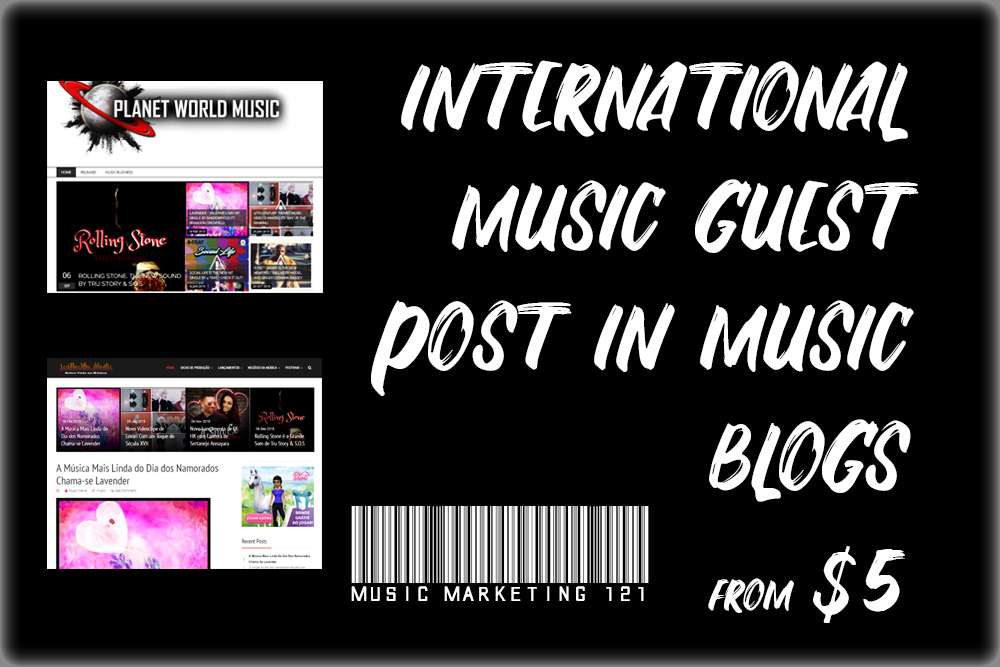 Music Guest Post on Music Blogs International
