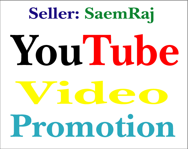 Real YouTube Promotion and Marketing Instant Start