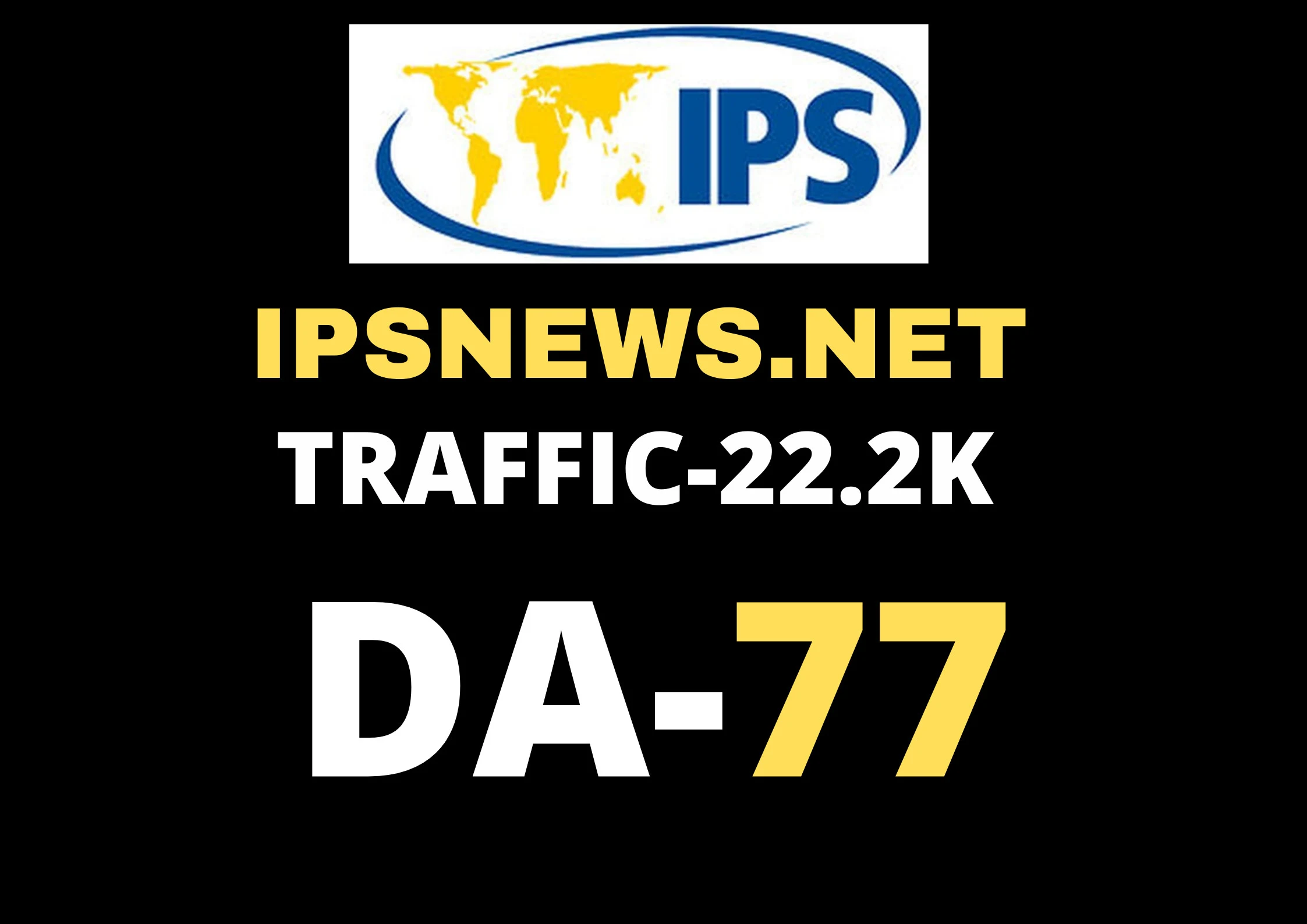 Guest post on my ipsnews. net Permanent Backlink DA78