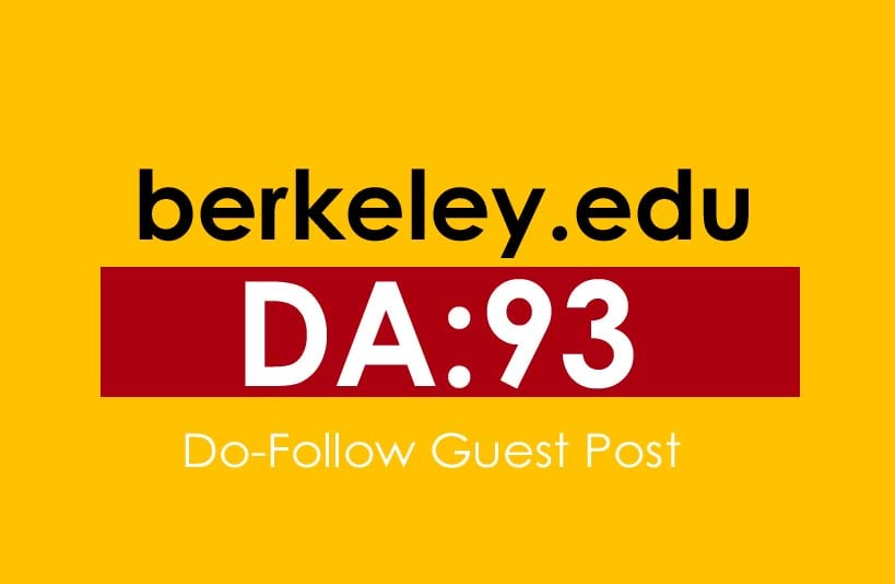 Publish a guest post on Berkeley - Berkeley. edu