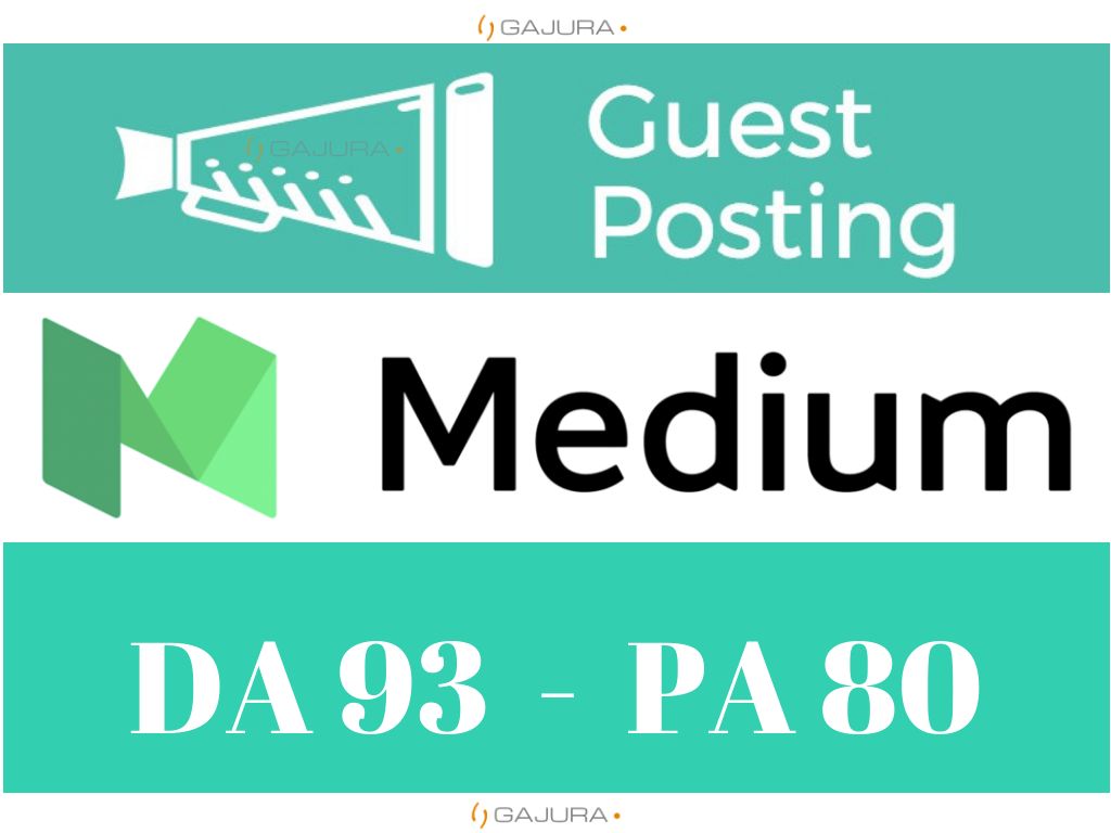 Guest Post on Medium. com DA 93 PA 80