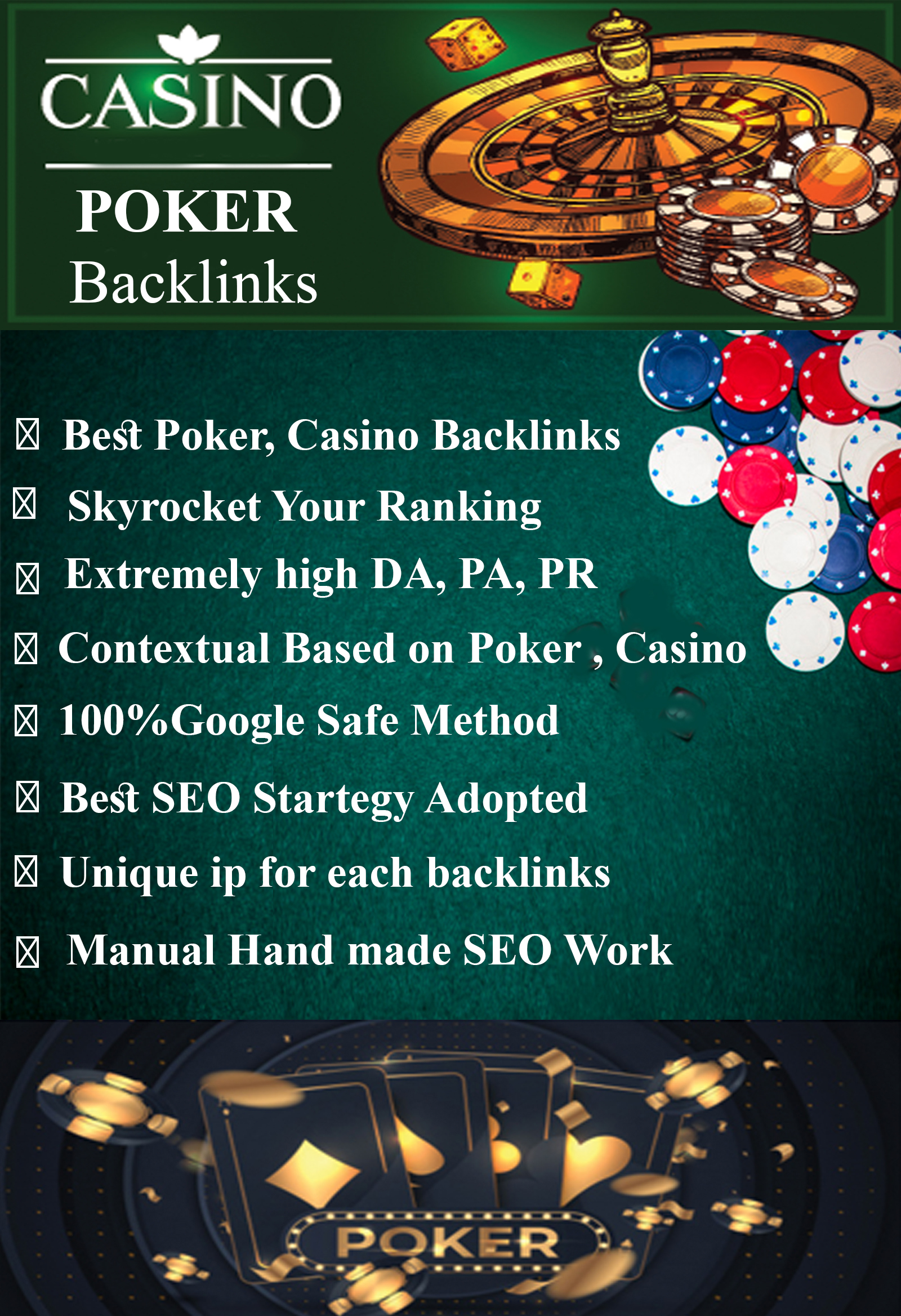 2850 poker, casino and gambling pbns backlinks
