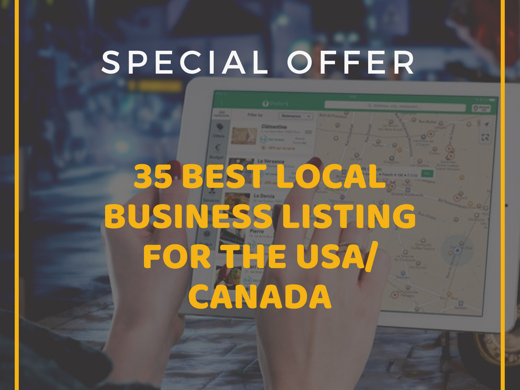 I Will do Quality 35 Local Business Listing Manually