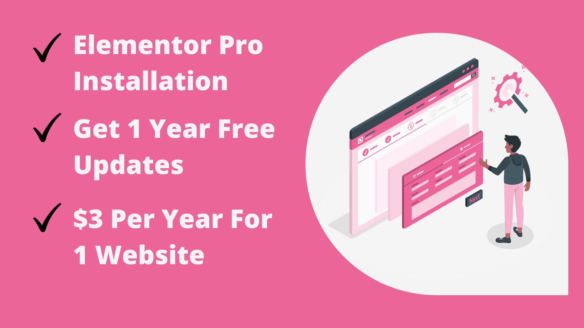 Install Elementor Pro & Astra Pro plugin on your wordpress website