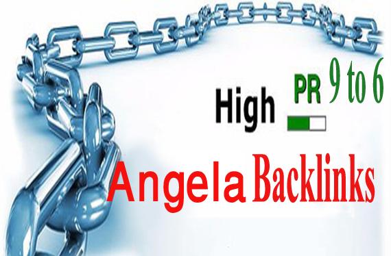 I Create 60 Latest Angela Paul,High Quality Seo Backlinks
