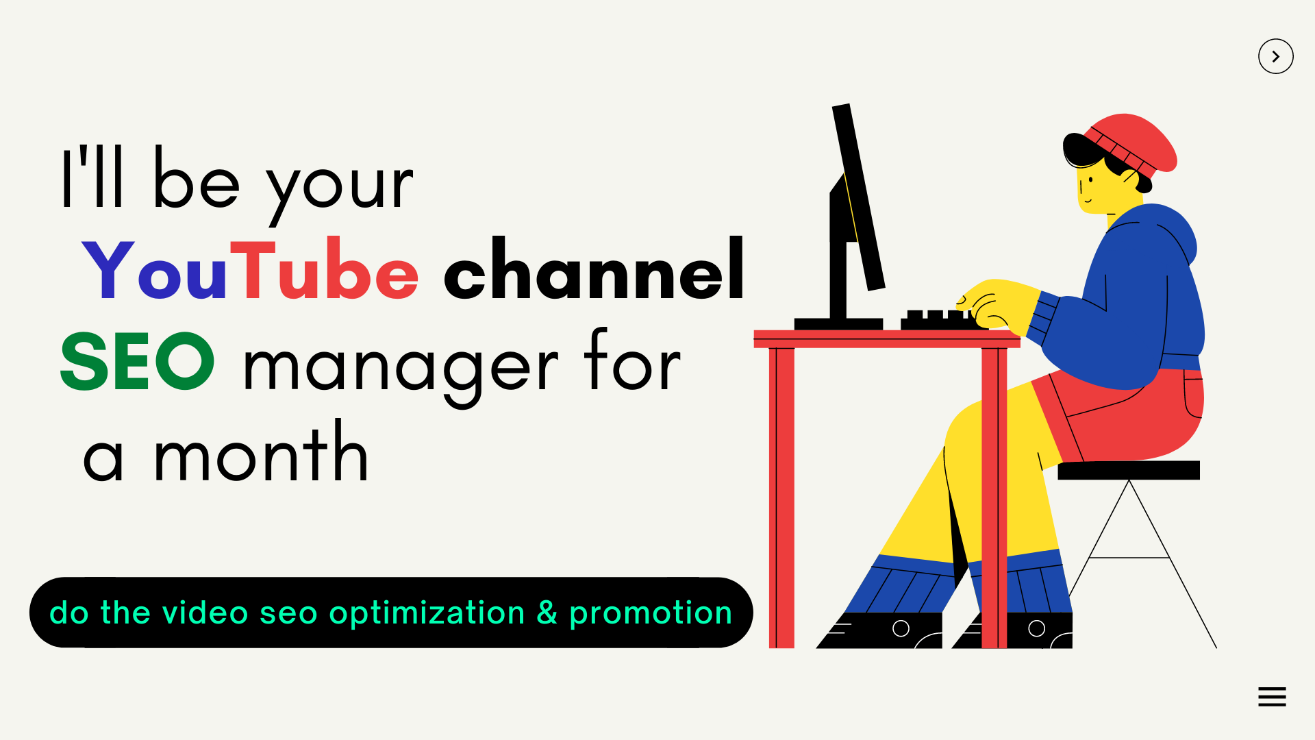 I'll Be Your YouTube SEO Manager For a Month