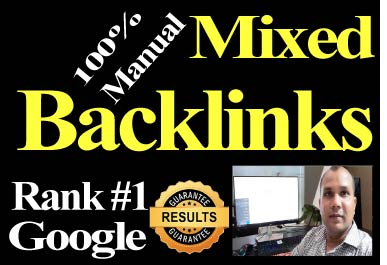 Manual 80 Mixed Backlinks High Authority website boost rank,  bring traffic,  Permanent link buil