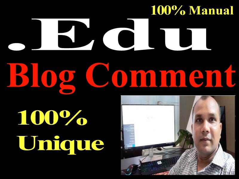 Manual 20. Edu Backlinks high authority permanent Dofollow link building